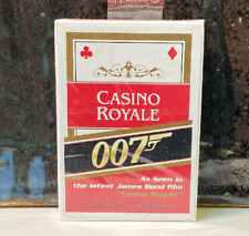 Sealed Deck Playing Cards James Bond Casino Royale 007 Cartamundi Nos Red Back