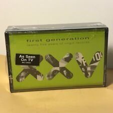 Vintage First Generation Twenty Five 25 Years of Virgin Records Cassette Tapes
