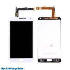 GLS DISPLAY LCD+ TOUCH SCREEN PER LENOVO VIBE P1 P1C72 BIANCO VETRO RICAMBIO 5,5