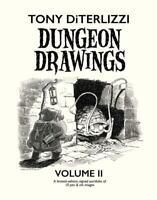 Tony DiTerlizzi Sketchbook Dungeon Drawings Volume II New