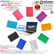 """New mCover® Hard Case for 15.6"""" Acer Aspire 5 A515-54 series ( Intel Cpu) laptop"""