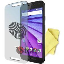 "4 Pellicola Opaca Per Motorola MOTO G 3 (3 Gen) 2015 Antimpronta Display 5"""