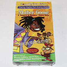 Mother Goose Rappin Rhymin Fairy Tale VHS SEALED HBO Salt-N-Pepa Denzel Whoopi