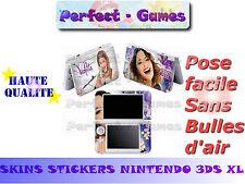 Skin sticker auto-collant vinyl  Violetta n°5 pour console nintendo 3DS XL LL