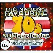 Nation's Favourite '70s Number Ones (2015) Kat Bush Trex Queen Abba Mud