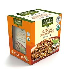 New listing Seeds of Change Certified Organic Quinoa and Brown Rice with Garlic (8.5 oz., 6