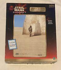 Star Wars Episode 1 Movie Teaser Poster Puzzle 300 pc Anakin /Darth Vader Shadow