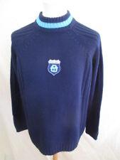Pull de football vintage OM Marseille Bleu Taille XL