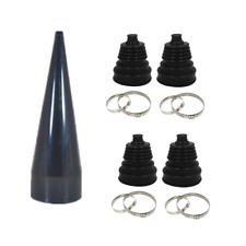 4pc Universal Constant Velocity CV Boot Joint Bailcast Fitting Cone Stretch