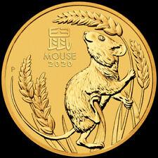 15 $ Australia 2020 - 1/10 ounce oz Finegold 999/1000 Lunar III Mouse BU