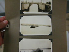 Three photos of the Columbia River early 1900's