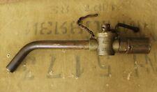 Original WW2 German army Gasoline Pump Fuel Nozzle - Ges.Gesch.Hellko A25 - Rare