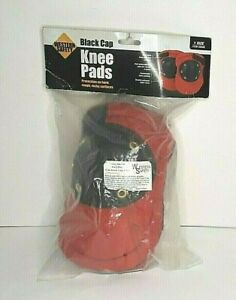 Knee Pads Western Safety Black Cap 1 Size Protection Rough Hard Surfaces NEW