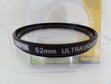 PLATINUM PLUS Sunpak 52mm UV Lens Filter 52 DSLR CAMERA