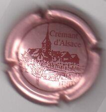 capsule CREMANT D'ALSACE, rosé