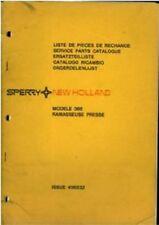 New Holland Baler 366 Parts Manual