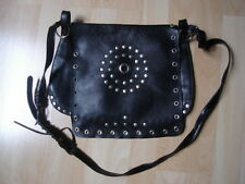 SAC A MAIN BESACE ZARA CUIR Clouté Rivets ROCK KATE vintage Hippie COACHELLA *
