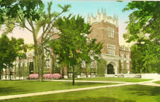 Muncie,IN. Ball Gymnasium,Ball State Teachers College, Hand-Colored