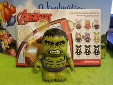 """Disney Vinylmation 3"""" Park Set 1 Marvel Avengers Age of Ultron Hulk Chaser Box"""