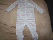 Gymboree NWT Newborn Essentials Uni-Sex Bear Striped One Piece 6-9
