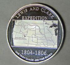 1804-1806 Lewis Clark Expedition Sacajawea .999 Silver 1 oz Round (31318)
