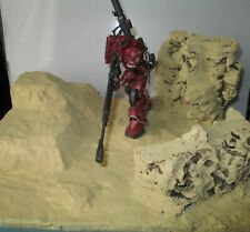 GUNDAM - 1/144 MS-06S ZAKU II (Red Comet Ver.) Model Kit HG Origin #24 DIORAMA