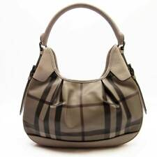 Authentic BURBERRY Shoulder Bag Beige  (Pre Owned)