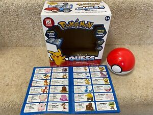 Pokemon Trainer Guess Kanto Edition Electronic Guessing Game & Field Guide