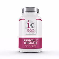 Revival X Female All Natural Herbal Supplement Hormone Support Estrogen Booster