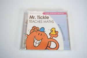 Mr Tickle Teaches Maths Kid Genius Series An Animated Story CD Rom Made in Aust