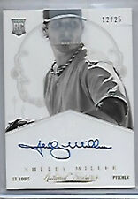 Shelby Miller RARE Auto Signed Rookie 12/25 Panini National Treasures