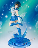 Sailor Moon Mizuno Ami PVC Figure Model Toy 17cm New No Box Xmas Gift Collection