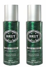 Brut Original Deodorant Body Spray for Men - 200ml x 2 (Pack of 2)