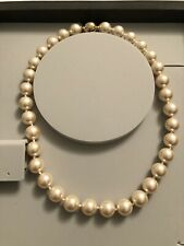 Pierre Lang Pearl Necklace With Gold Plated Magnetic Clasp
