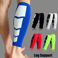 Neoprene Calf Support Leg Shin Splints Pain Injury Sleeve Compression Brace Wrap
