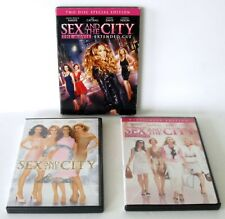 Lot 3 SEX AND THE CITY Movies 1,2, 1 Extended Cut 2 DVD Box Set 2008 Films