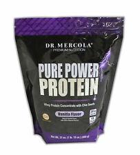 Dr. Mercola Pure Power Protein - Vanilla 31oz Ship