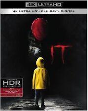 It w/Slipcover (4K Ultra HD, Blu-ray, 2017, 2 Disc, Digital) NEW