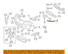 MAZDA OEM 06-15 MX-5 Miata Front Bumper Grille Grill-Plate NE51501C0B