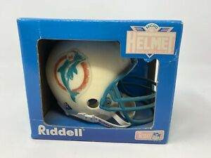 Vintage Miami Dolphins Riddell Micro Helmet Collectible Team NFL 1995 Old Logo