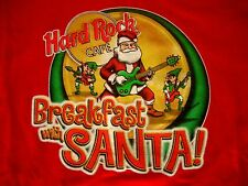 HRC Hard Rock Cafe en línea red Break Fest with Santa té size s NWT nuevo