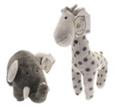 Giraffe and Elephant Soft Toy