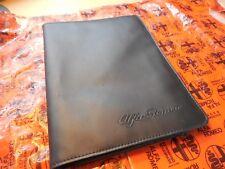 Alfa Romeo Spider Gtv6 164 Milano Black Leather Manual Booklet