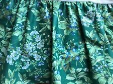 EUC! Vtg Laura Ashley Berry Bramble Floral FULL Size Bed Skirt Made Cottage