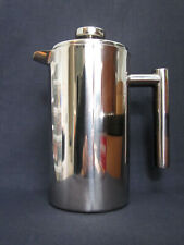 CUISINOX STAINLESS STEEL DOUBLE-WALL INSULATED FRENCH COFFEE PRESS unused