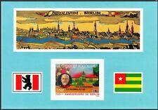 Togo #C562 MNH S/S 750th Anniv of Berlin/Bismarck/Charlottenburg