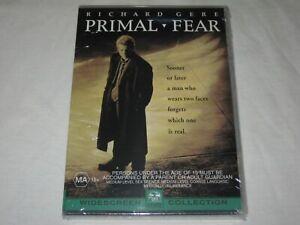 Primal Fear - Richard Gere - Brand New & Sealed - Region 4 - DVD