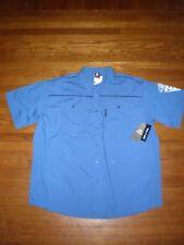 NWT ECKO UNLTD S/S BLUE DRESS SHIRT SZ: 4XB 4XL 4X