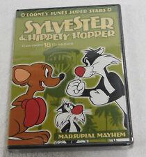 Looney Tunes Super Stars Sylvester & Hippety Hopper Marsupial Mayhem Dvd New