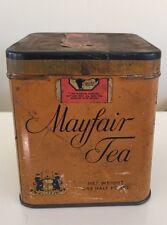 Vintage Mayfair Tea ~ One half pound  ~ EMPTY ~ The Quaker Maid Co. Inc. NY, NY